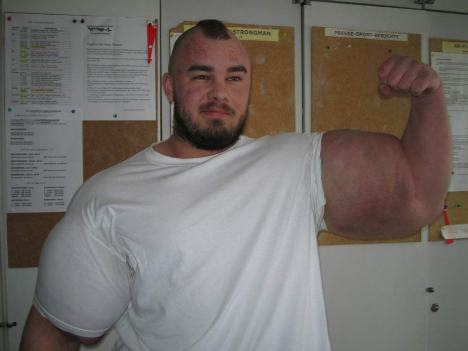 SEO o Synthol, Músculos grandes sin esfuerzo