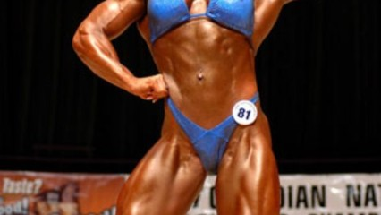 Mujeres musculosas, Cindy Phillips
