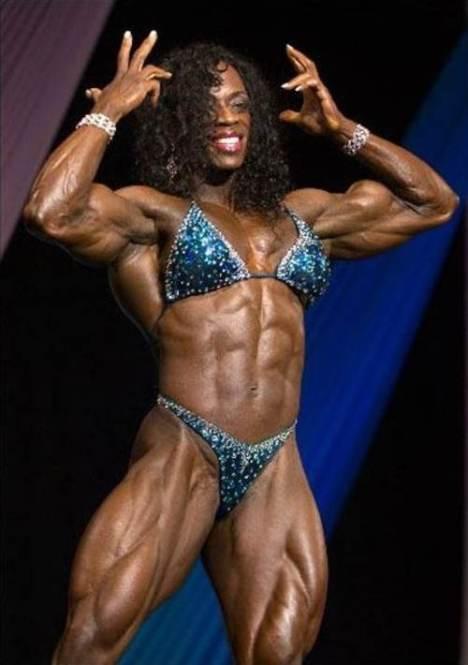 Mujeres musculosas: Iris Kyle