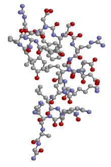 molécula de proteína
