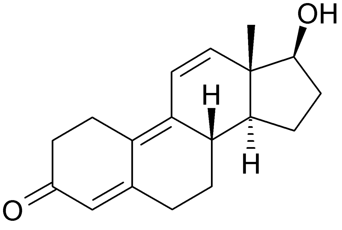 molecula trenbolone