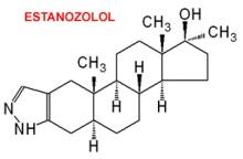 molécula de estanozolol