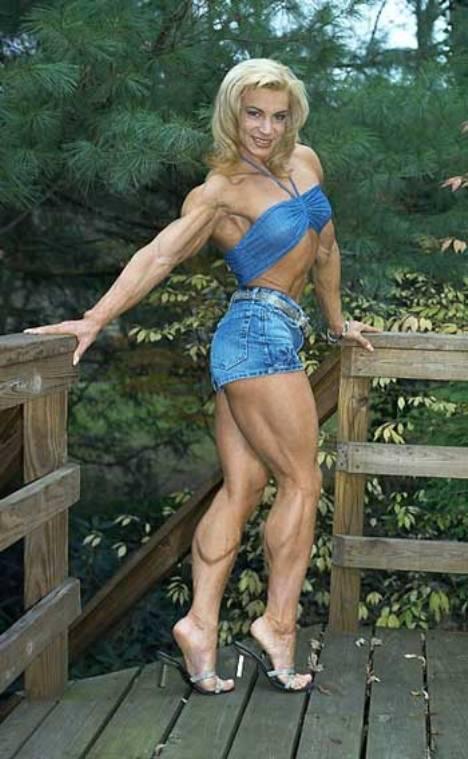 Mujeres musculosas, Valentina Chepiga