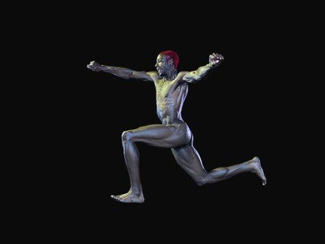 Atletas olímpicos desnudos