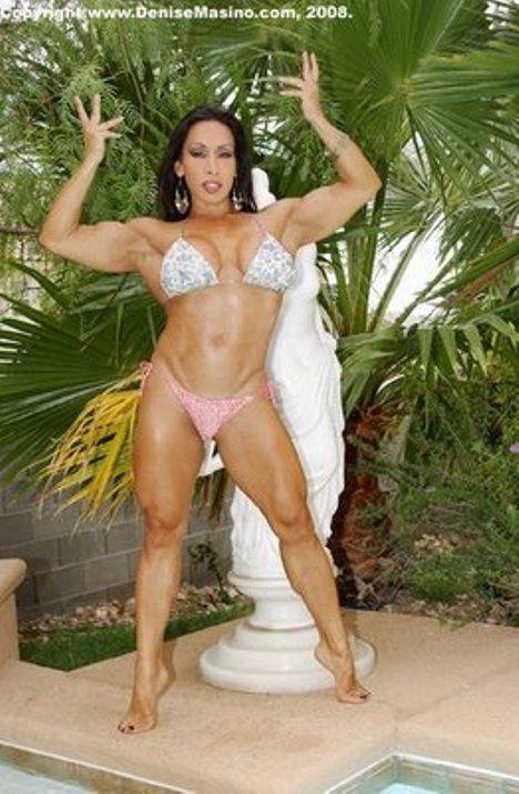 Mujeres Musculosas, Denise Masino