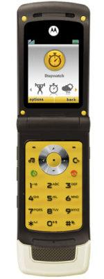 Entrena con el MOTOROKR® W6 de Motorola