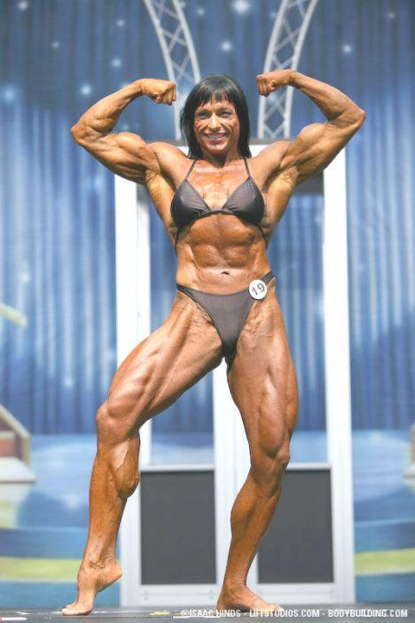 Mujeres musculosas, Irene Andersen