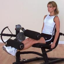 entrenar glúteos y caderas en el gimnasio