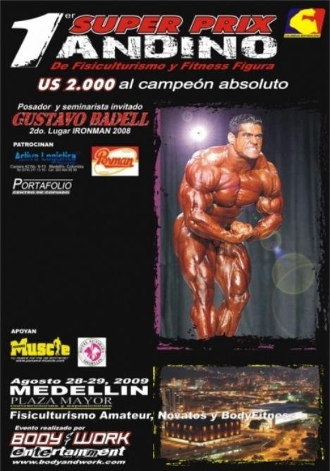 Primer Super Prix Andino de Fisiculturismo y Fitness Figura
