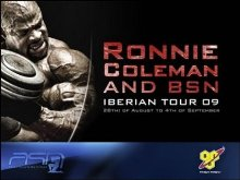 Ronnie Coleman en España, Iberian Tour 2009