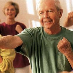Entrenamiento cardiovascular en la vejez