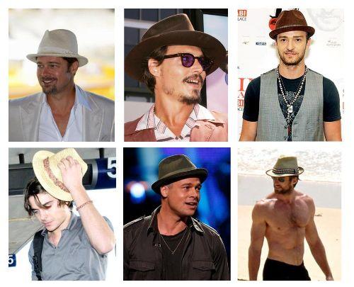 Sombreros de los famosos