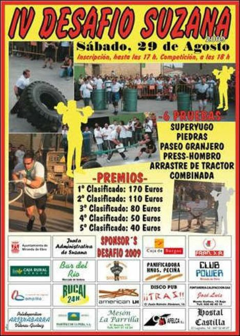 IV Desafío Suzana para Atletas de Fuerza 2009