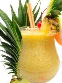 zumo de piña