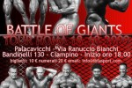 Battle of Giants Tour UPBF 2009, Italia