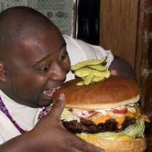 comer hamburguesas