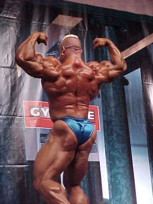 Campeones culturistas, Markus Ruhl