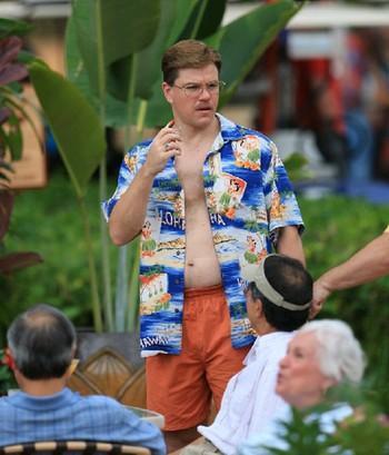 Matt Damon: gordo, contento y soplón!