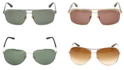 Gafas de sol Aviator por Tom Ford