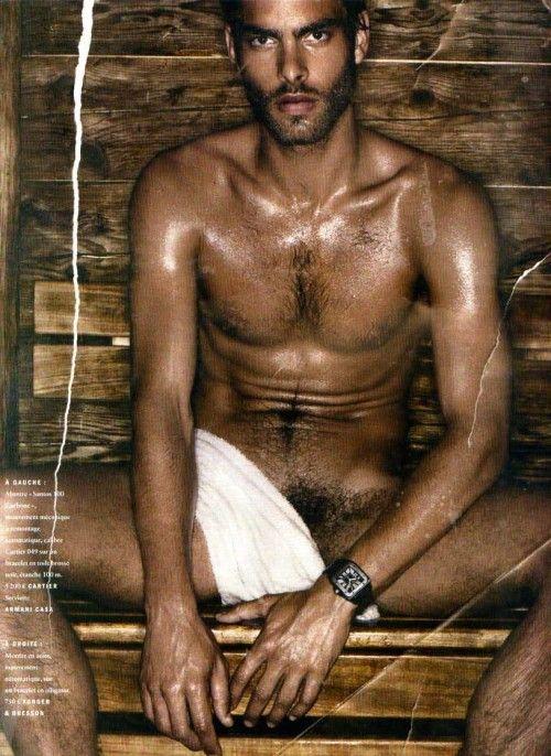 Jon Kortajarena en el sauna