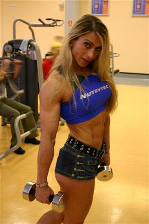 Mujeres musculosas, Paloma Parra