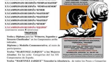 XX Campeonato de España Fuerza y Resistencia