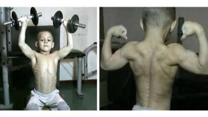 Giuliano Stroe, el niño mas fuerte del mundo