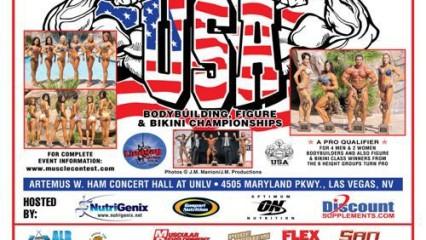 NPC USA de culturismo, bikini y figuras 2010