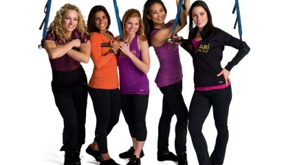 Jukari  Fit to Fly, fitness y acrobacias para chicas con Reebok