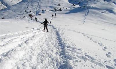 La montaña en invierno (I)