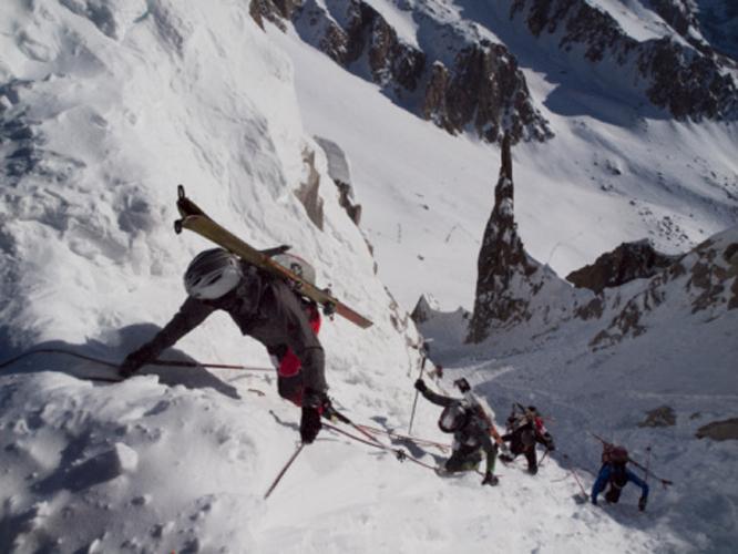 La muerte en la montaña