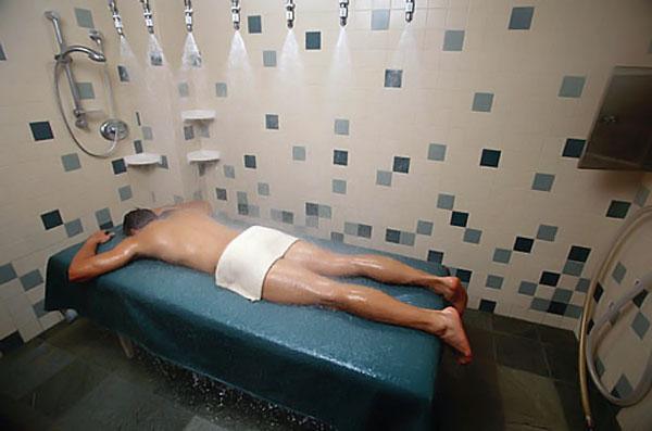 Talasoterapia y dolor de espalda