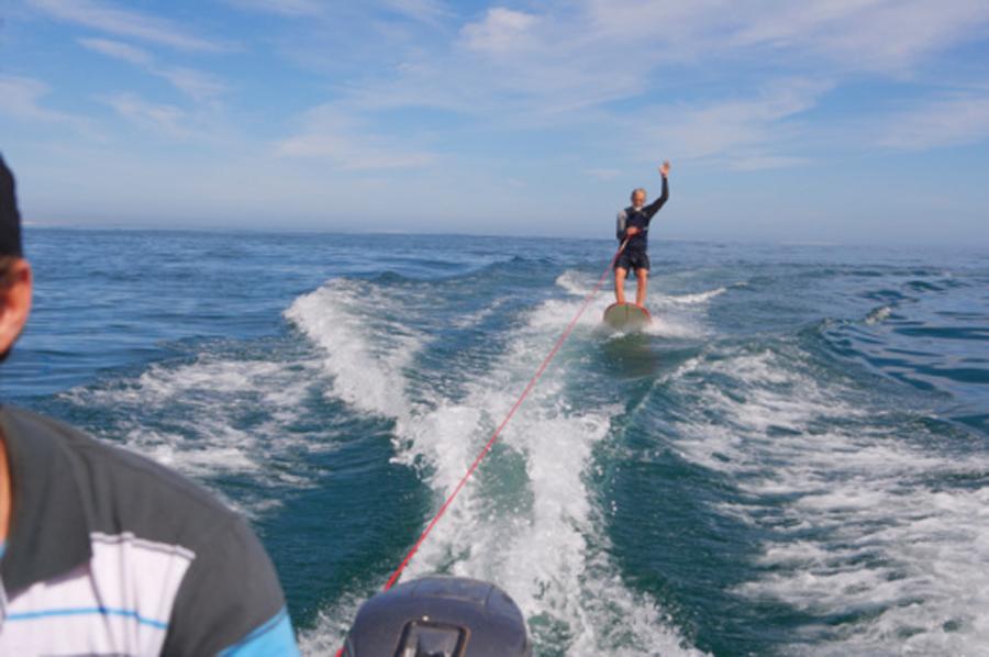 El esquí acuático
