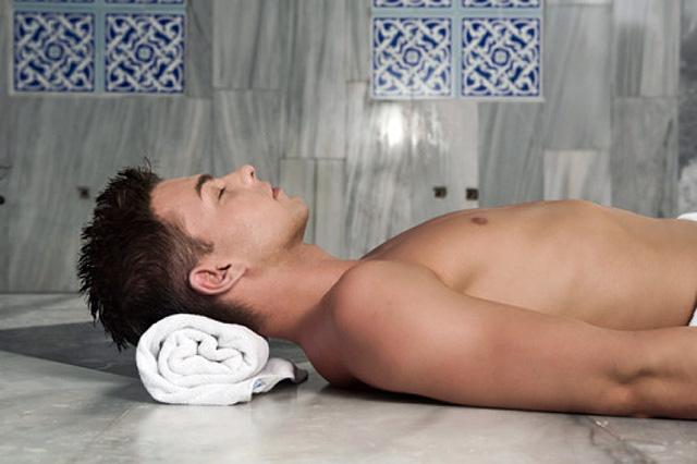 Talasoterapia para hombres que se cuidan