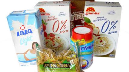 Diabetes y alimentos light