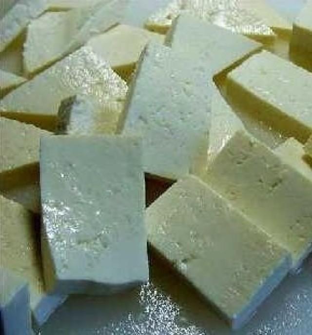 Menú del día: Tofu dorado con setas chinas