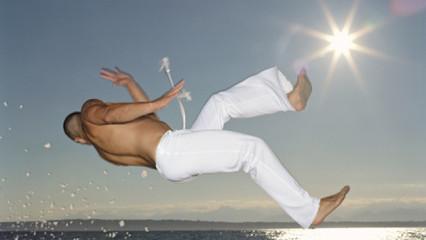 Entrenamiento físico y capoeira