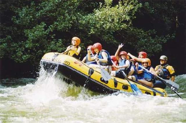 Deportes Extremos, rafting