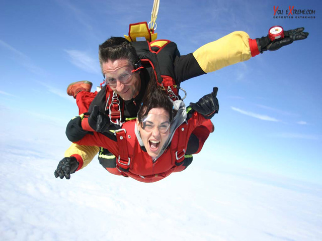 El paracaidismo, el maravilloso arte de volar