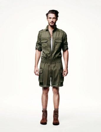 Colecciones Gucci y H&M para hombres  primavera verano 2011
