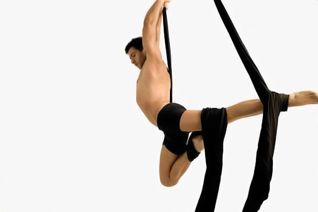 Fitness y ejercicios de trapecio