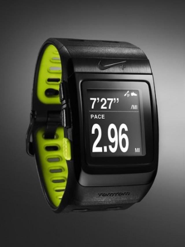 El GPS reloj de Nike y TomTom
