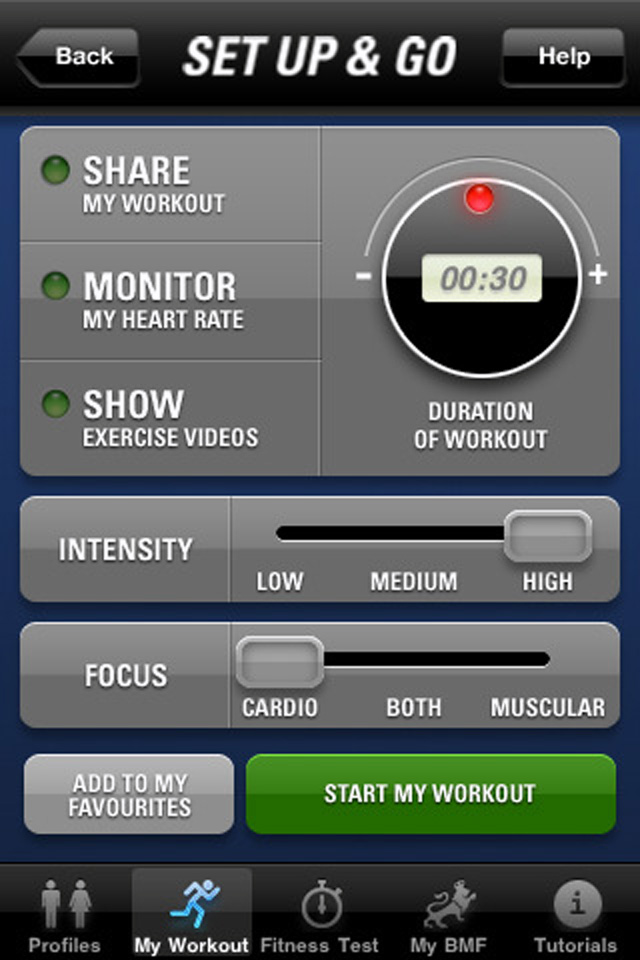 British Military Fitness, el Instructor gratis para iPhone / iPod touch