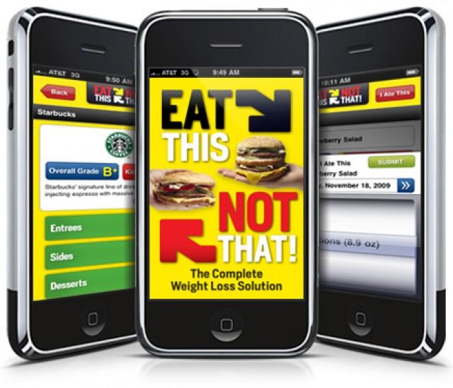 Aplicaciones del iPhone sobre alimentación