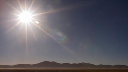 Lucha contra el sol en alta montaña