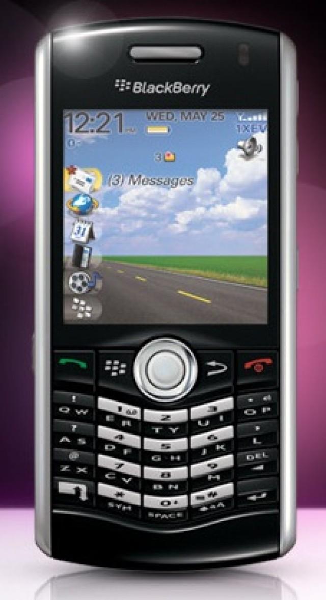 Nueva BlackBerry Pearl para ciclistas