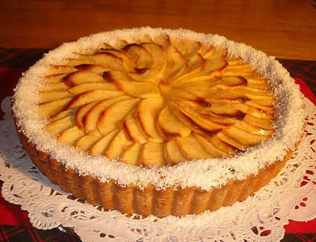 Tarta de manzana Light