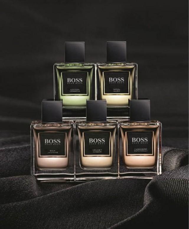 Colección de perfumes Hugo Boss