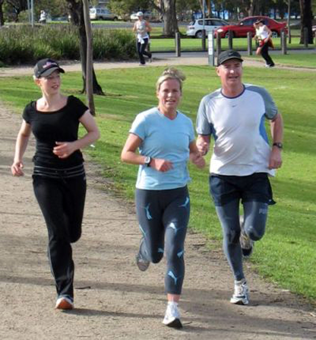 Elección de correr como actividad física habitual