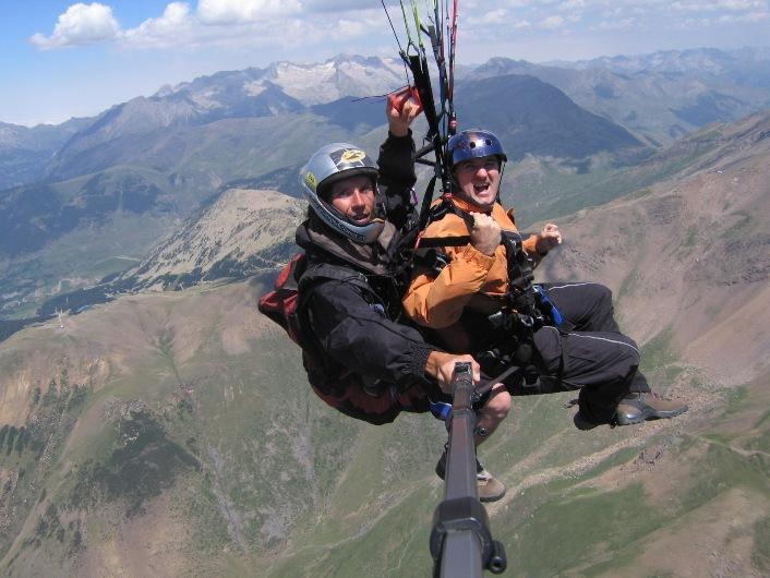 Vacaciones y deportes de riesgo